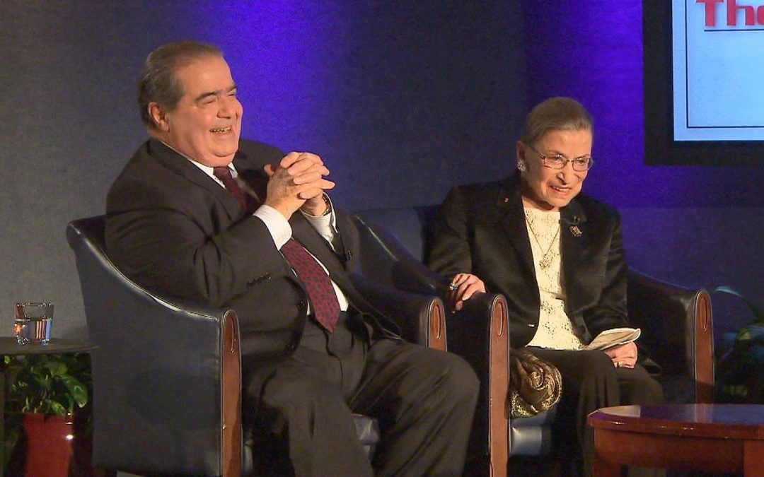 """We are different, we are one"": la lezione di civiltà di Ginsburg e Scalia"